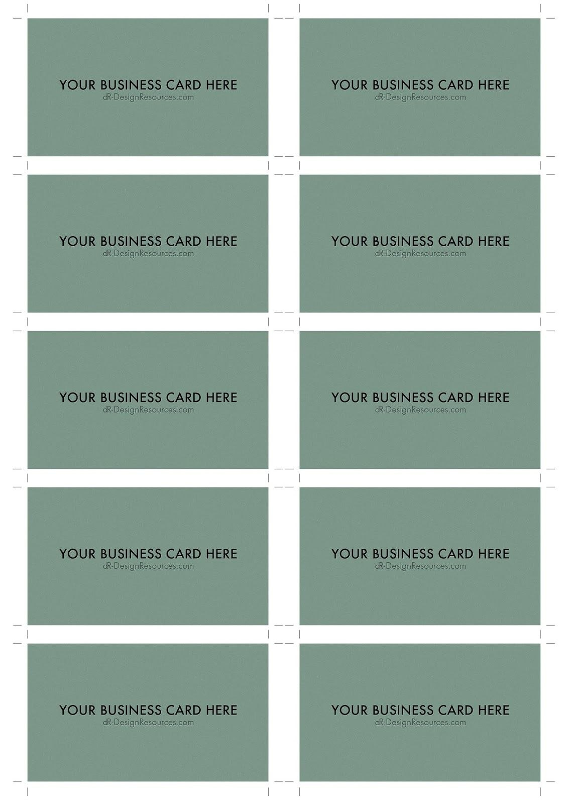 A Business Card Template Psd  Per Sheet  Business Cards Intended For Name Card Template Photoshop
