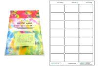 A Precut Multi Matte White Paper Labels X  Labels Per Sheets with regard to Label Printing Template 21 Per Sheet