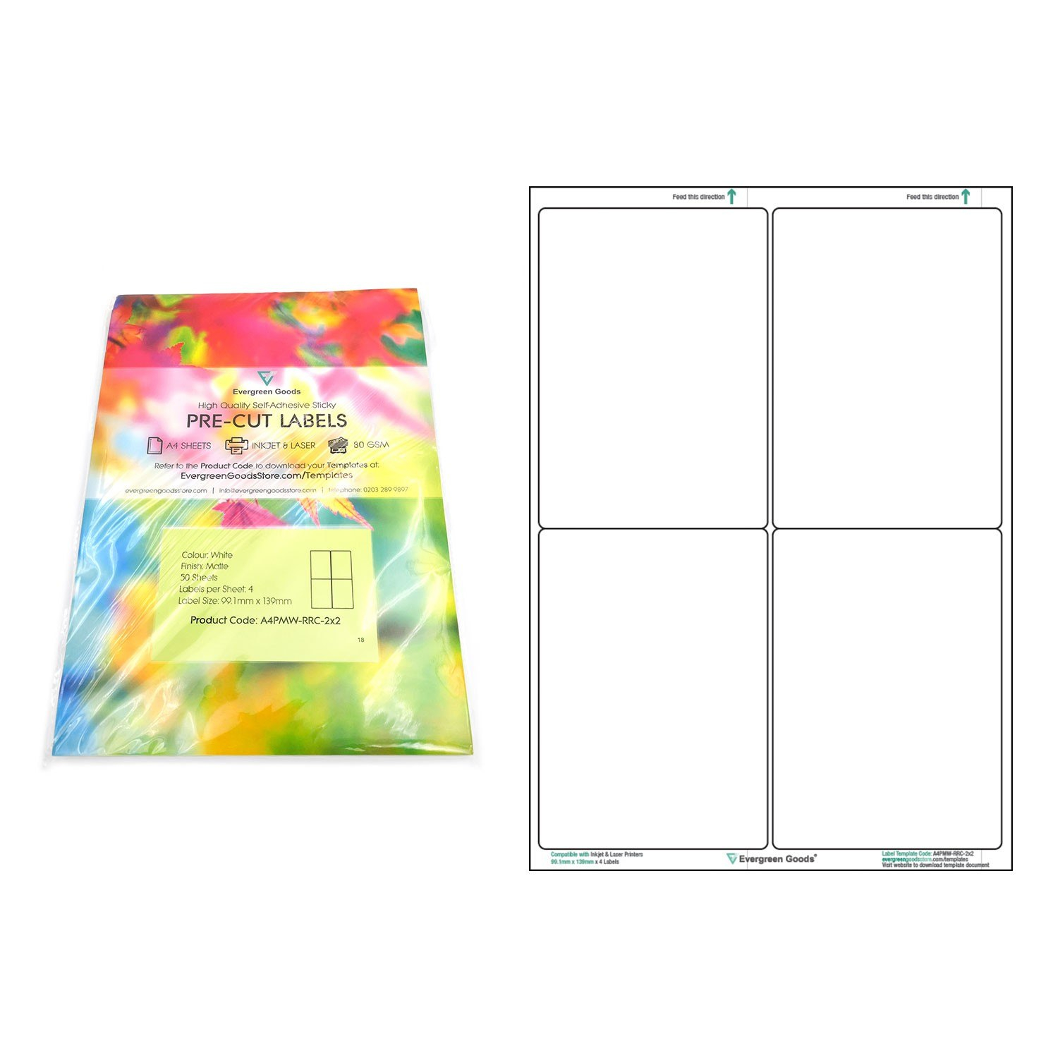 A Precut Multi Matte White Paper Labels X  Labels Per Sheets Within 3X8 Label Template