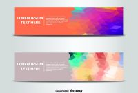 Abstract Banner Templates Vector  Free Vector Download In Ai Eps regarding Website Banner Templates Free Download