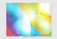 Abstract Brochure Or Flyer Design Template Book Cover Design pertaining to Blank Templates For Flyers