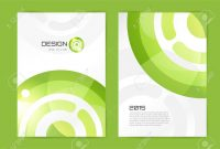 Abstract Brochure Or Flyer Design Template Book Design Blank regarding Blank Templates For Flyers