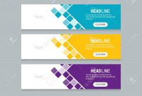 Abstract Web Banner Design Template Royalty Free Cliparts Vectors throughout Website Banner Design Templates