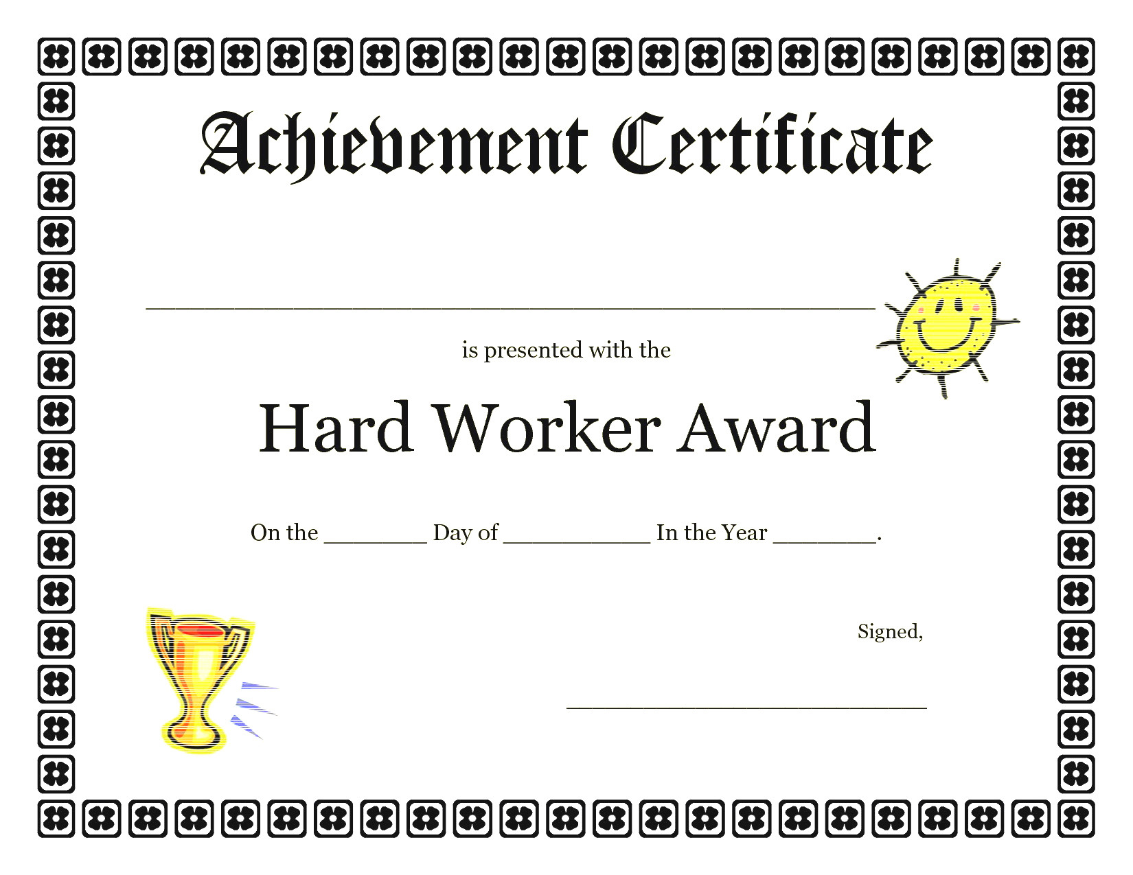 Achievement Certificate Template For Kids   Contesting Wiki Within Certificate Of Achievement Template For Kids