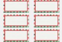 Address Label Templates For Wedding Invitations  Templates for Christmas Address Labels Template