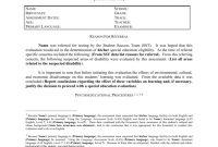 Adhd Report Template regarding School Psychologist Report Template