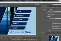 Adobe Encore Basics  Creating Menus  Youtube in Adobe Encore Menu Templates