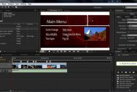 Adobe Encore Cs Tutorial  Building Playlists In Encore pertaining to Encore Cs6 Menu Templates Free