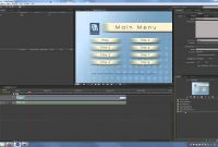 Adobe Encore Cs Tutorial Creating Menus And Timelines  Youtube throughout Encore Cs6 Menu Templates Free