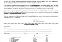 Advertising Order Form Templates Free Word Pdf Excel Format inside Free Newspaper Advertising Contract Template