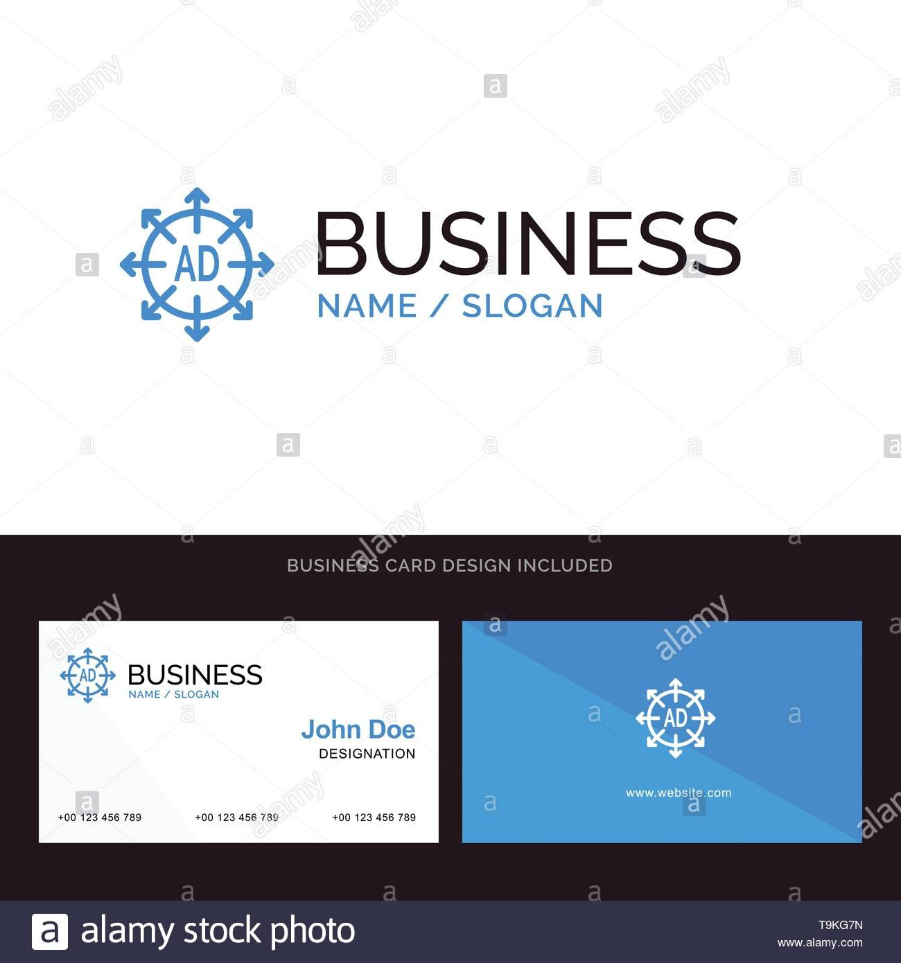 Advertising Submission Advertising Submission Ad Blue Business Inside Advertising Card Template