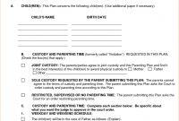 Affidavit Of Agreement Sample Fresh Divorce Settlement Template with Divorce Financial Settlement Agreement Template