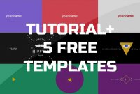 After Effects Tutorial  Gif Animated Banner   Free Templates with Animated Banner Template