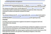Agreement Free Sublease Agreement Form Sublease Capture Of Furniture with Tool Rental Agreement Template