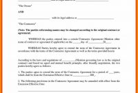 Agreement Template Between Two Parties Ideas Payment Letter within Legal Contract Between Two Parties Template