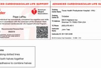 Aha Cpr Card Template  Template Modern Design regarding Cpr Card Template