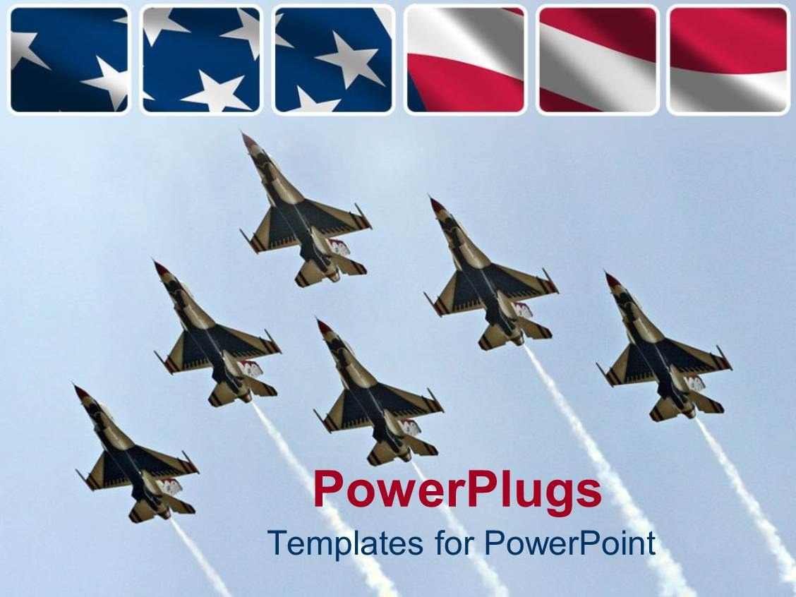 Air Force Powerpoint Templates W Air Forcethemed Backgrounds Intended For Air Force Powerpoint Template