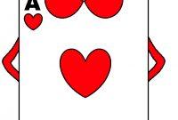 Alice In Wonderland Card Soldiers Printable Cutout inside Alice In Wonderland Card Soldiers Template
