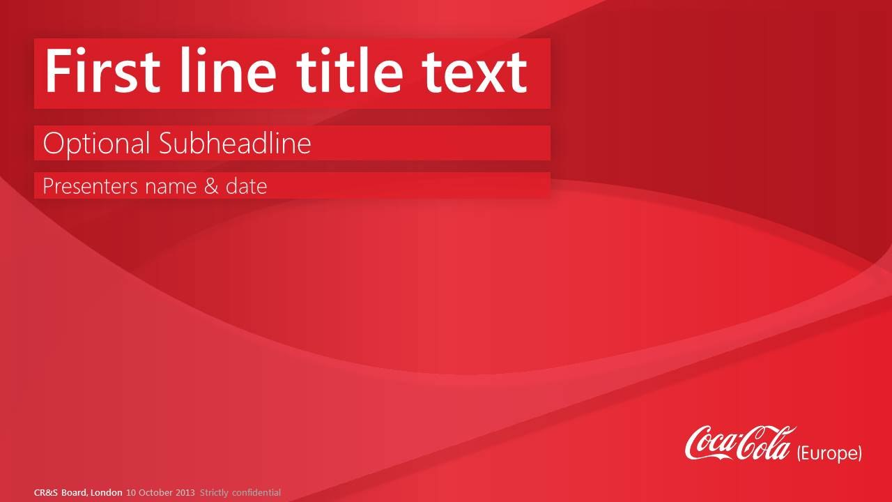 All Categories  Pipeburan For Coca Cola Powerpoint Template