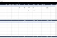 All The Best Business Budget Templates  Smartsheet with Business Budgets Templates