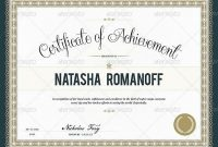 Amazing Photo Realistic Certificate Templates  World Graphic inside Indesign Certificate Template