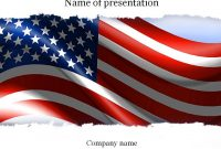 American Flag Powerpoint Template  Templates  Templates American with American Flag Powerpoint Template