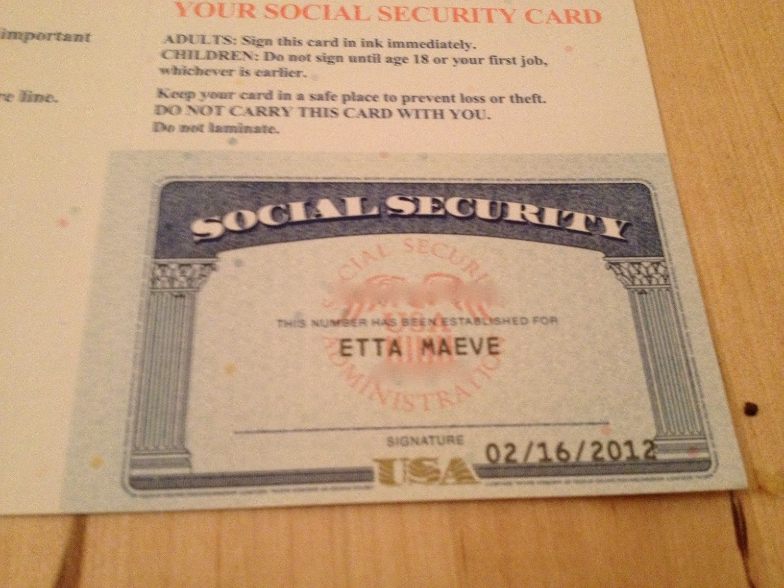 And Card You Images   Postage In Born Protecting Greeting With Regard To Editable Social Security Card Template