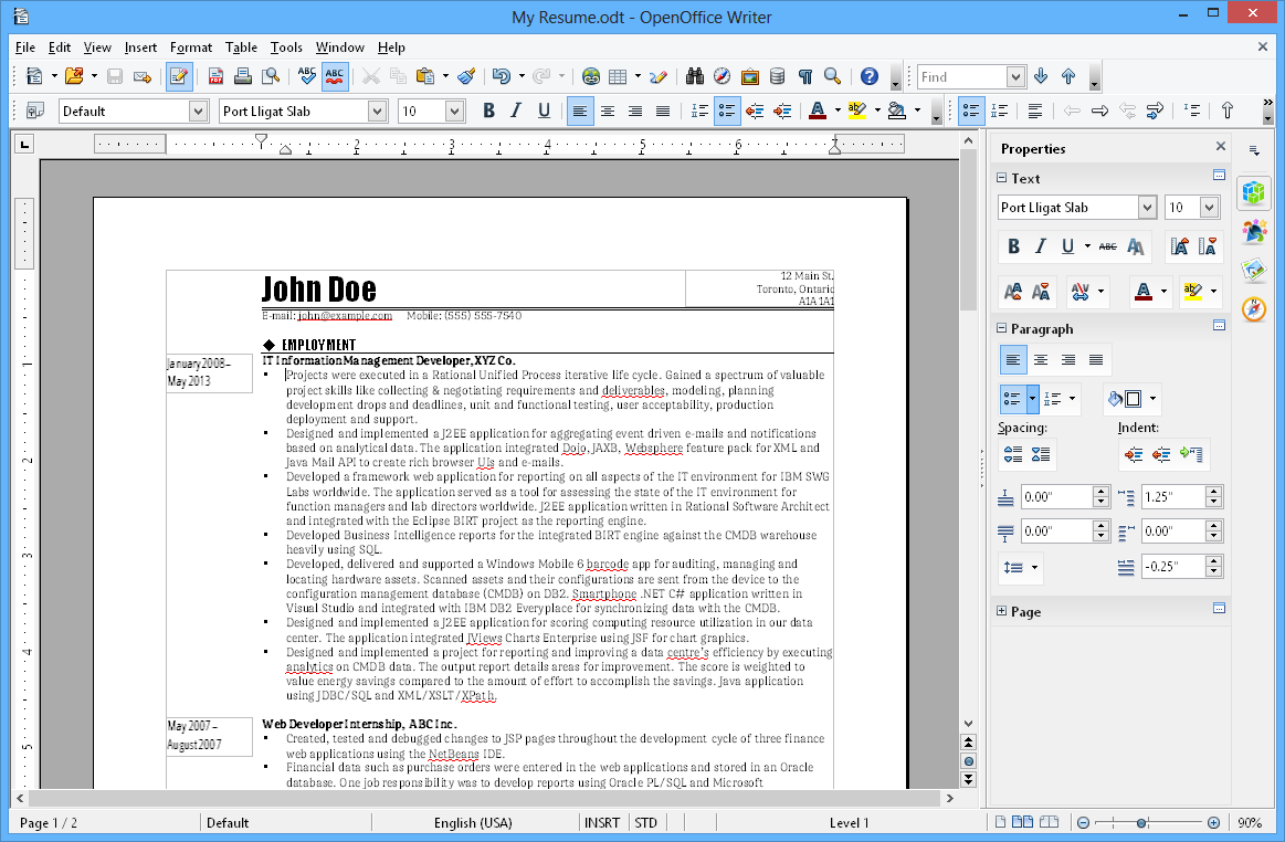 Apache Openoffice Writer For Open Office Index Card Template