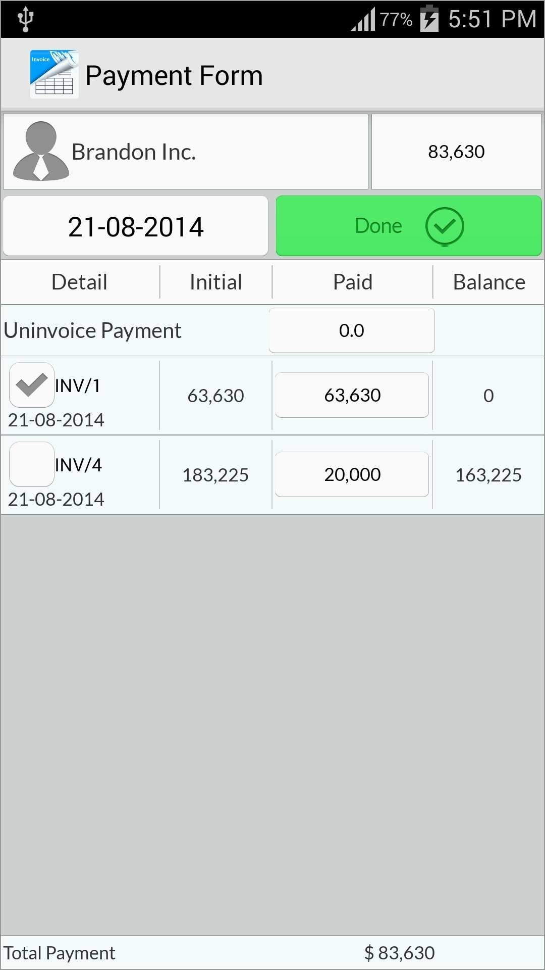 App Templates Free Android Astonishing Android Invoice App Invoice In Invoice Template Android