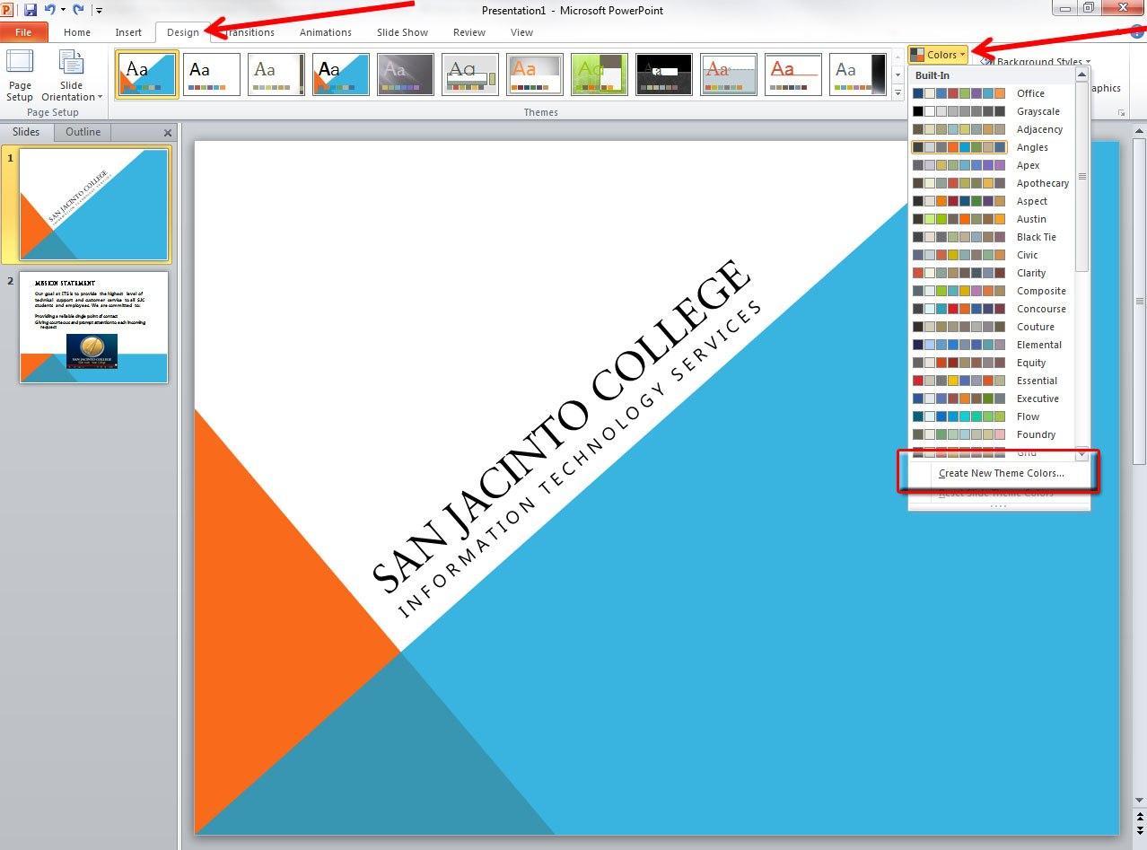 Applying And Modifying Themes In Powerpoint   Information Inside Save Powerpoint Template As Theme
