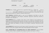 Assignment Of Contract Debt Form  Legal Forms And Business  – The for Debt Assignment Agreement Template