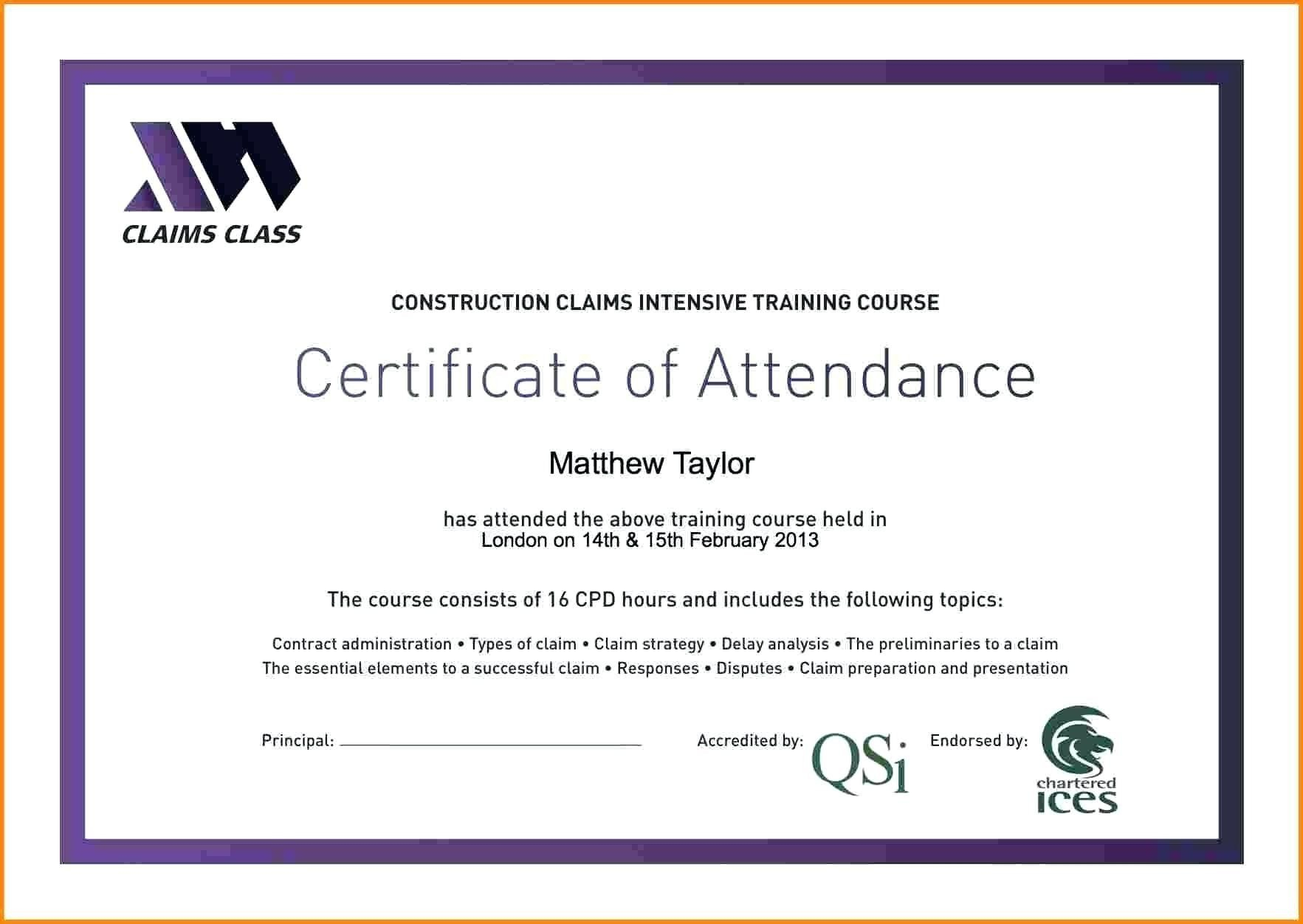 Attendance Certificate Template Word Free  Certificatetemplateword With Regard To Perfect Attendance Certificate Template