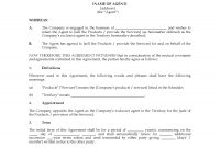 Australia Exclusive Agency Agreement  Legal Forms And Business with Legal Representation Agreement Template