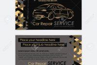 Automotive Service Business Card Template Car Diagnostics And throughout Automotive Business Card Templates
