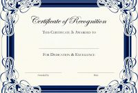 Award Certificate Template Free Amazing Free Printable Certificate With Regard To Certificate Templates