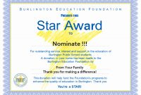 Award Certificate Template Free  Tate Publishing News throughout Star Award Certificate Template