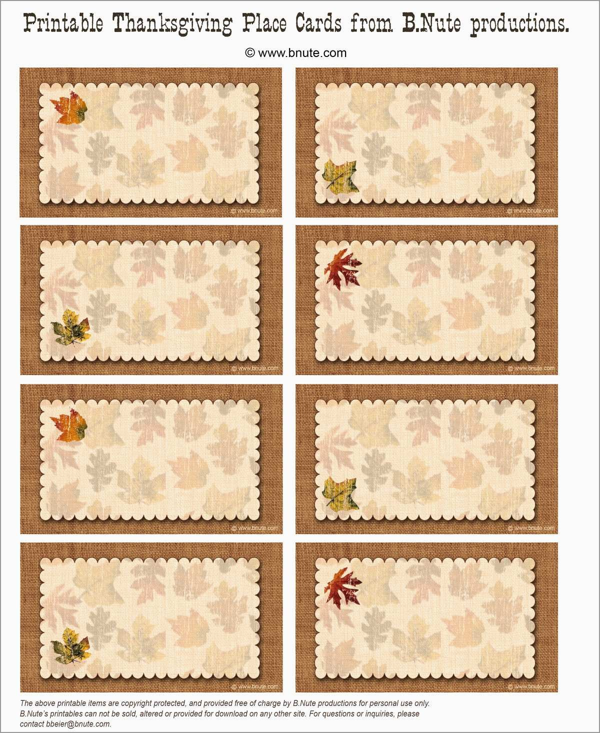 Awesome Free Printable Christmas Table Place Cards Template  Best For Thanksgiving Place Cards Template