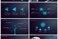 Awesome High Tech Ppt Template For Surreal Intelligent Robot For Pertaining To High Tech Powerpoint Template
