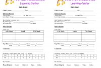 Baby Log Forms  Google Search  Daycare Forms  Infant Daily Report with regard to Daycare Infant Daily Report Template