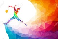 Badminton Sport Invitation Poster Or Flyer Background With Empty throughout Sports Banner Templates