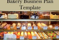 Bakery Business Plan Template In   Starting A Cupcake Or Cake inside Cake Business Plan Template