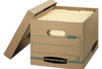 Bankers Box Storage Label Template for Storage Label Templates