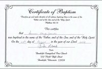 Baptism Certificate Template Catholic Word Free Professional In pertaining to Roman Catholic Baptism Certificate Template