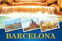 Barcelona Travel Flyer Free Download   Work  Travel Brochure inside Travel And Tourism Brochure Templates Free