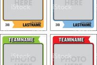 Baseball Card Template Free Ideas Best Lineup Printable Trading with Trading Cards Templates Free Download