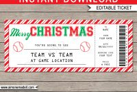 Baseball Gift Certificate Template Free for Tennis Gift Certificate Template