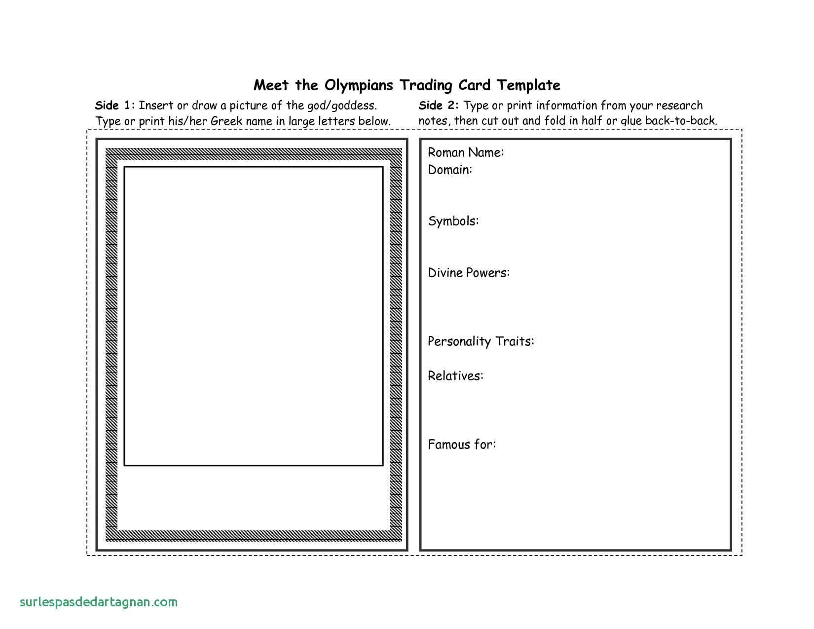 Baseball Trading Card Template Classic Word Blank  Freiburger With Regard To Trading Card Template Word