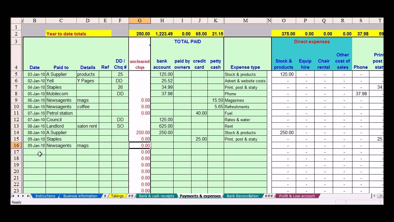 Basic Budget Templates  Template Business Pertaining To Small Business Accounting Spreadsheet Template Free