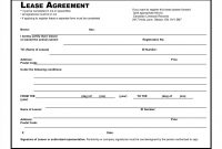 Basic Residential Lease Agreement South Africa Simple Rental regarding Free Printable Commercial Lease Agreement Template