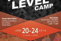 Basketball Flyer For Kids Sports Camp Designedwwwbrandandbrush for Basketball Camp Brochure Template